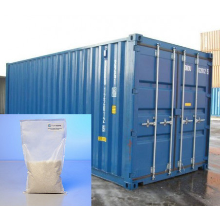 ABSORBEUR D'HUMIDITE POUR CONTAINER HUMISORB® 1KG