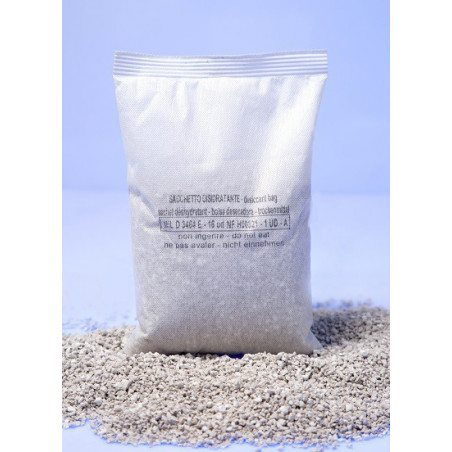 STANDARD DESSICANT BAG BENTONITE CLAY WITHOUT INDICATOR (FROM 1/100 UD TO 2UD NF)